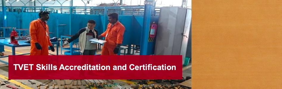 TVET Skills Accreditation and Certification